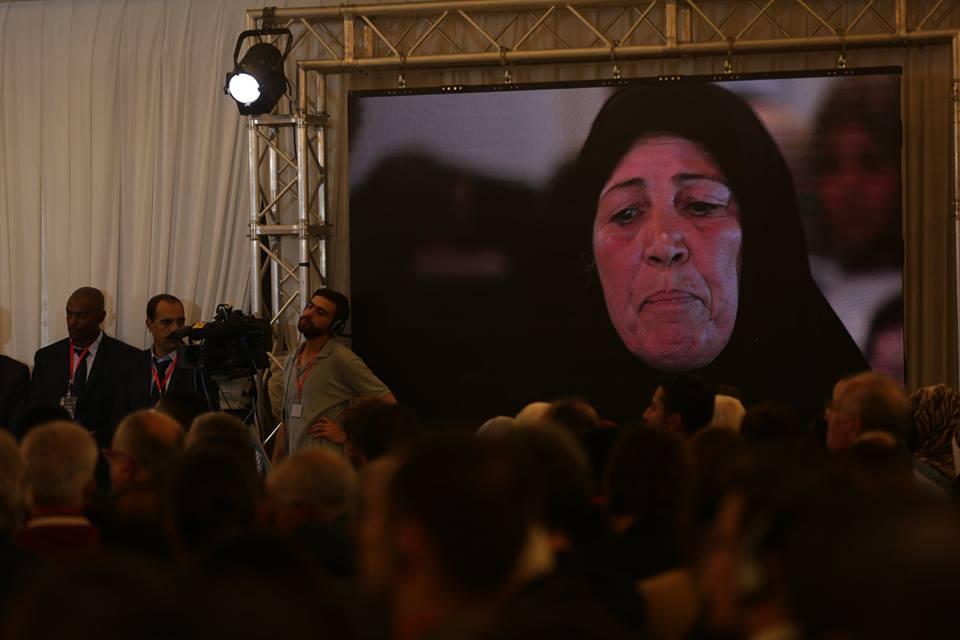 kadousi Ourida mère de martyr Kadousi Raouf